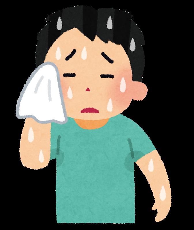 汗が多い?それは多汗症という病気かもしれません